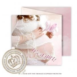 Sprookjes Geboortekaartje GB101 FC3 Pink