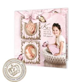 Sprookjes Geboortekaartje GB975 FC2 Pink
