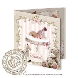 Sprookjes Geboortekaartje GB286 FC2 Pink
