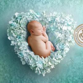 Digitale Droomfoto - Precious heart (Blue)