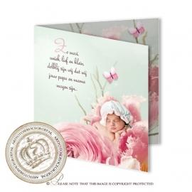 Sprookjes Geboortekaartje GB835 FC2 Pink
