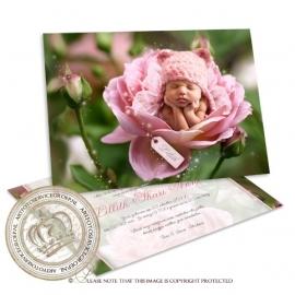 Sprookjes Geboortekaartje GB458 Pink