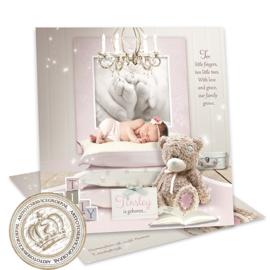 Sprookjes Geboortekaartje GB397 Pink