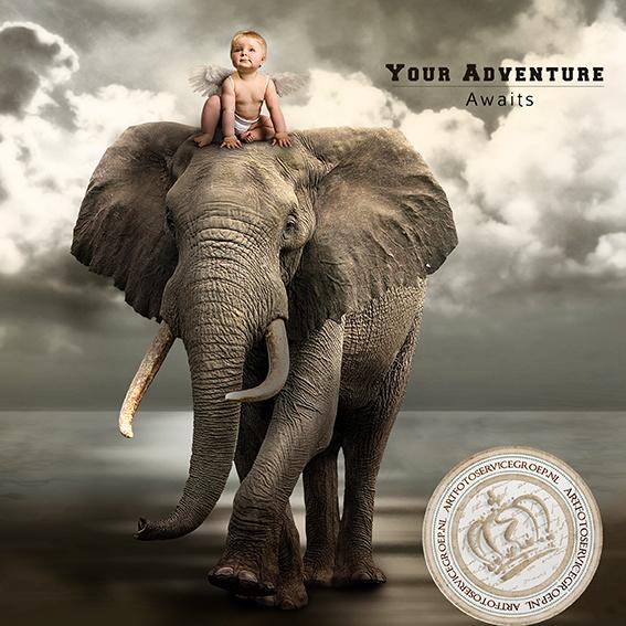 Fantasy Art Photo - Your Adventure Awaits...
