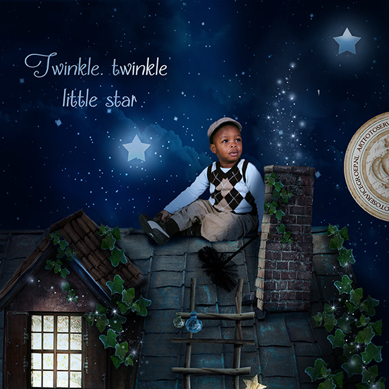 Sprookjesfoto - Twinkle, twinkle, little star...