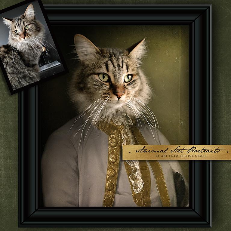 Animal Art Portrait AP847