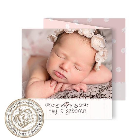 Foto Geboortekaartje LG945 FC3 Girl