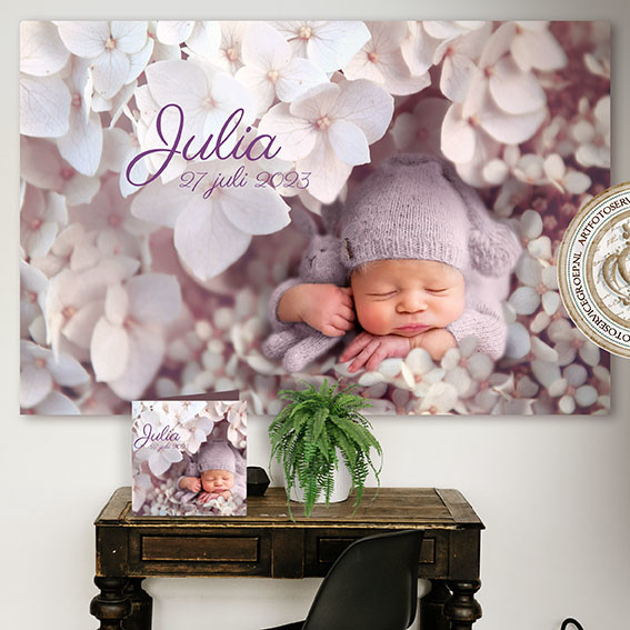 Digitale Droomfoto - Babyflowers