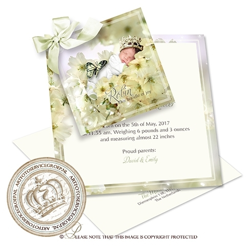 Sprookjes Geboortekaartje GB506 DS