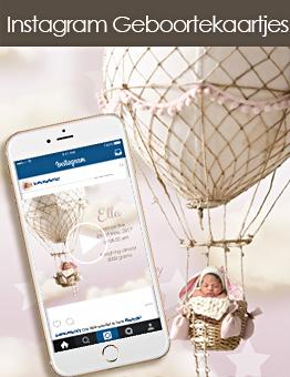 Social Media Geboortekaartjes