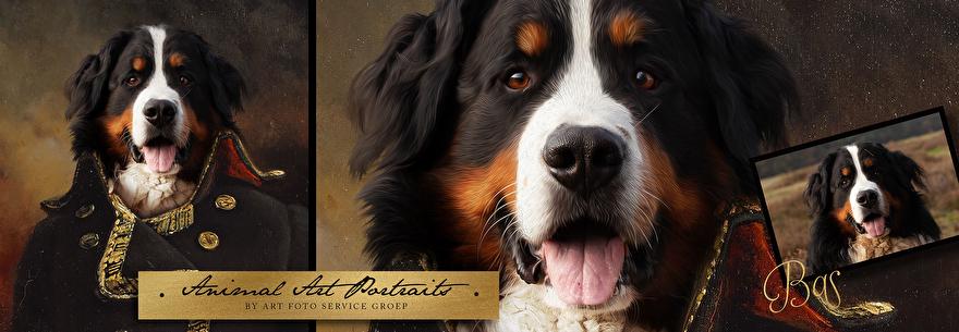 Een klassiek portret van jouw allerliefste huisdier