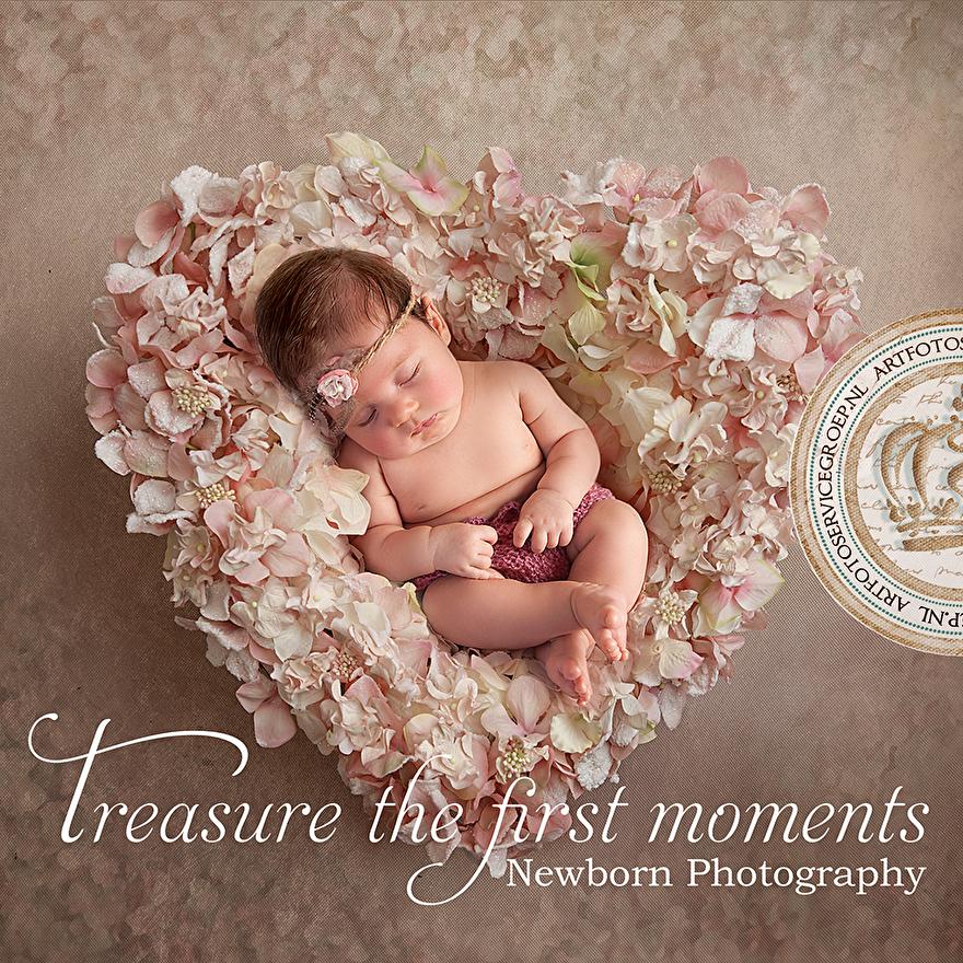 Een Newborn shoot van je kleintje