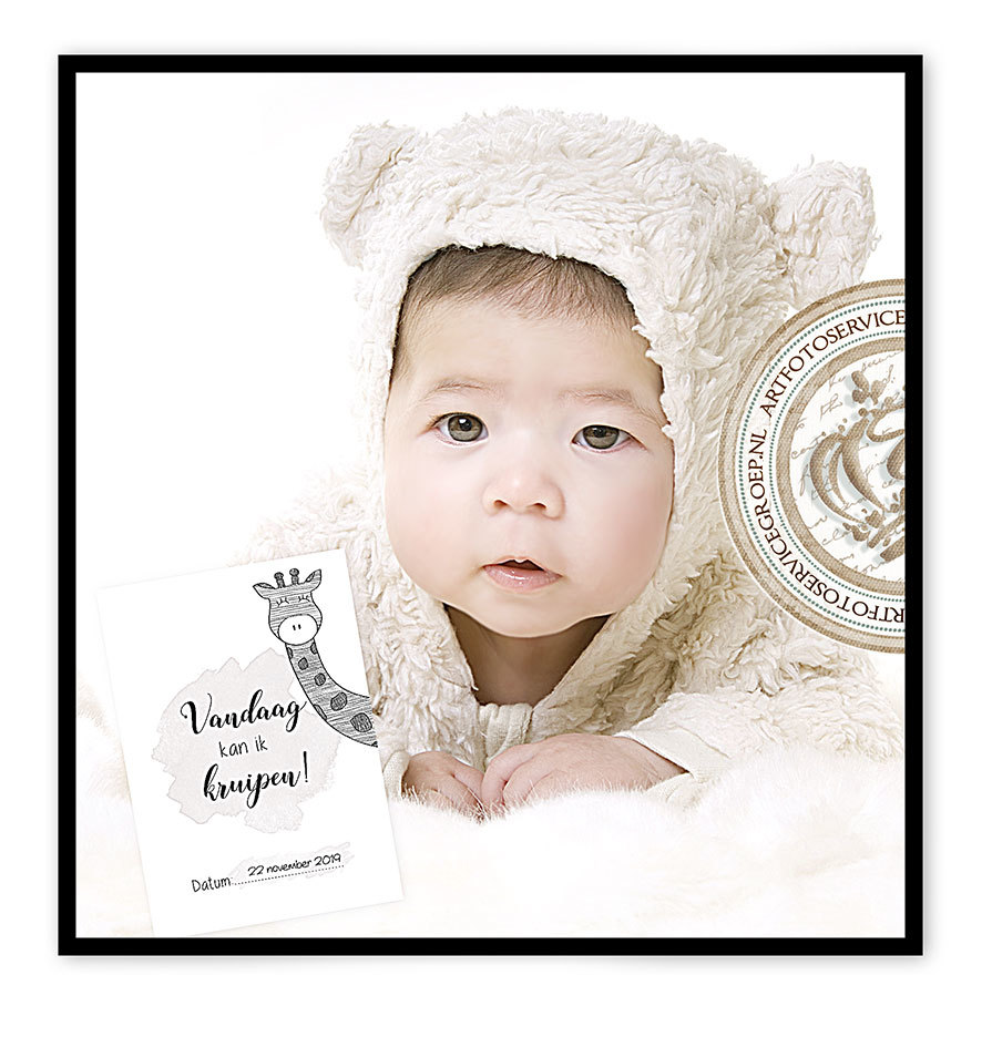 Milestone baby cards by Art Foto
