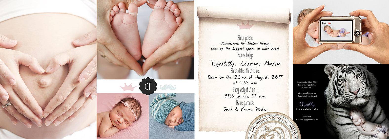 Geboortekaartjes bestellen