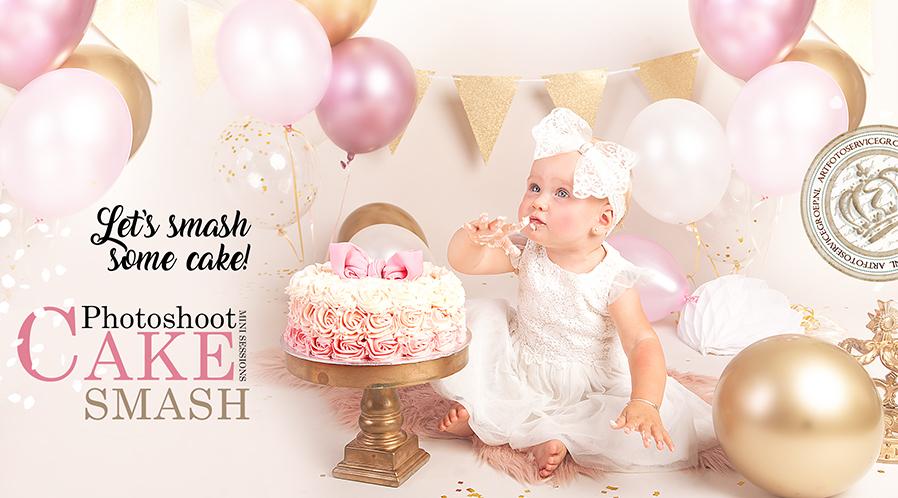 Let's smash some cake!
