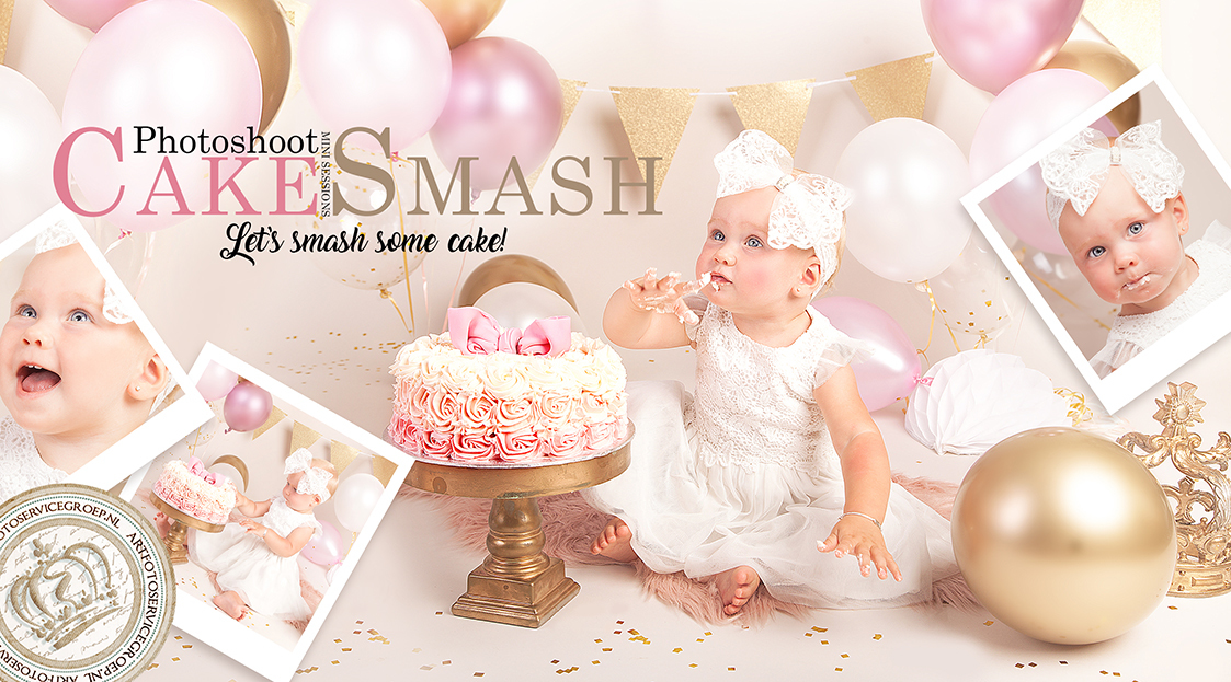Cake Smash Photoshoot, let's smash some cake!