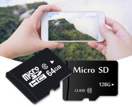 Micro SD-kaart + adapter