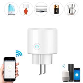 Wi-Fi smart socket (2 stuks)