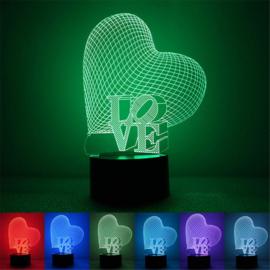 Visual effect LED lamp