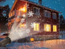 LED sneeuwvlok projector