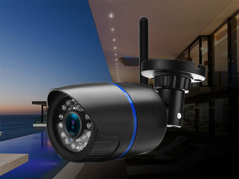 Outdoor camera black 720P/960P