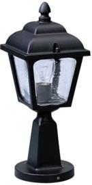 660536 Aluminium Sokkellamp