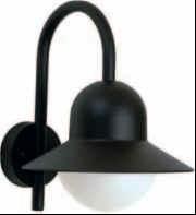 660662 Aluminium Wandlamp