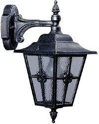 601805  Aluminium  Wandlamp