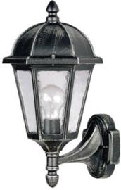 641828  Aluminium Wandlamp