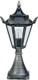 600533 Aluminium  Sokkellamp