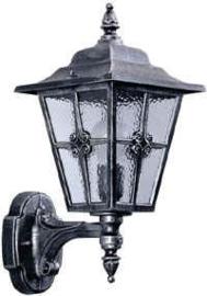 Aluminium wandlamp 601804
