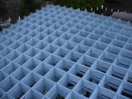 Gegalvaniseerd betongaas 300x200 cm 15x15 cm. 4 mm.