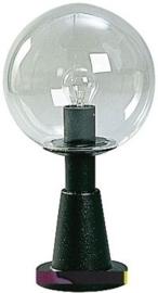 660538 Aluminium Sokkellamp