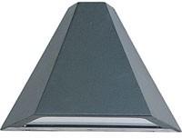 660673 Aluminium Wandlamp