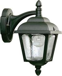 661813  Aluminium Wandlamp