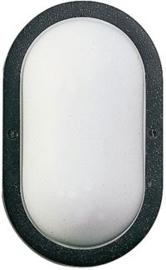 666037  Aluminium Wandlamp