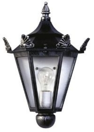 603228  Aluminium  Wandlamp