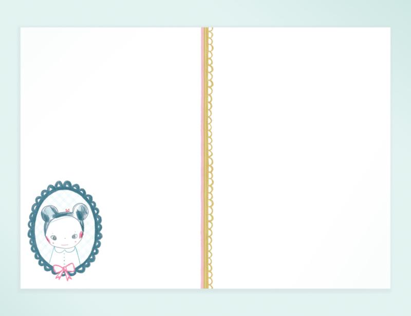 Muis Illustratie BIRTHDAY WISHES PHILOU wenskaart