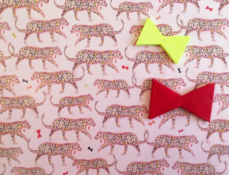 LEOPARDS luipaard print cadeaupapier