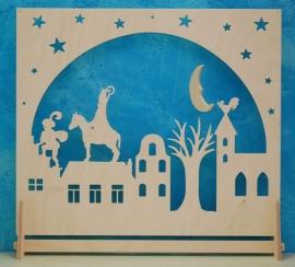 Decoratie groot Sinterklaas