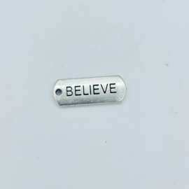 """tibetan style bedel/hanger """"believe"""""""