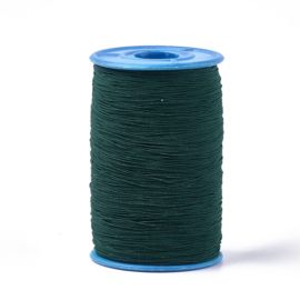 elastisch koord DONKER GROEN 0.6 mm