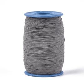 elastisch koord GRIJS 0.6 mm