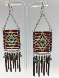 oorhangers met Miyuki beads