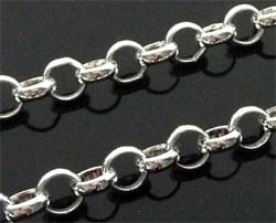 jasseron ring 3mm zilverkleur van rol