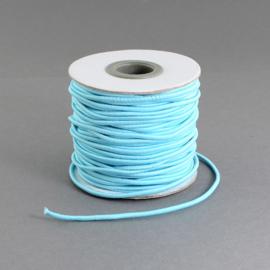 elastisch koord LICHT BLAUW 0.8 mm