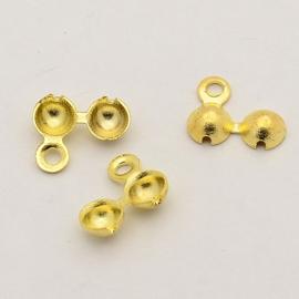 kalot goudkleur 8.5mm X 7mm tot 3 mm