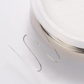 koperdraad zilverkleur 0.6 mm
