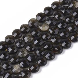 goldener Glanz Obsidian
