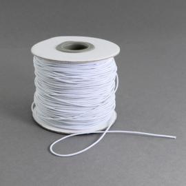 elastisch koord WIT 0.8 mm